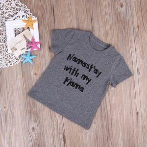 Other - Namast'ay with my mama toddler shirt